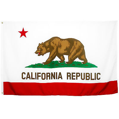 Fahne KALIFORNIEN 90x150 cm - NEU & OVP -  Flag California 90 x 150 Flagge