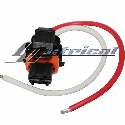 alternator repair plug 2 pin wire pigtail harness fits cadillac you re almost done alternator