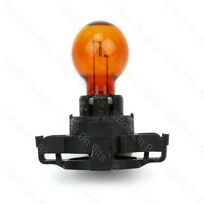 PHILIPS Peugeot 3008 Front Amber/Orange Indicator PY24W 24W Bulb light/lamp