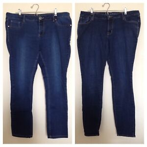 2 pairs Size 18 skinny jeans