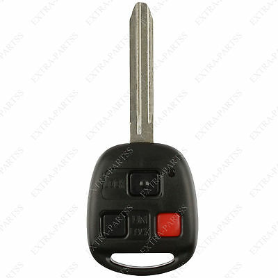 New Replacement Car Remote Key Fob For Toyota Land Cruiser 4C Chip Hyq1512v