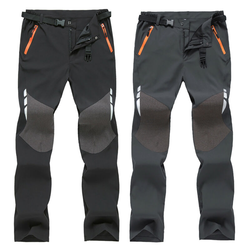 Men's Camping Cargo Combat Work Pants Tactical Hiking Climbi