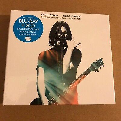 "Steven Wilson ""Home Invasion Concert At Royal Albert Hall"" 2CD Blu-Ray Sealed"