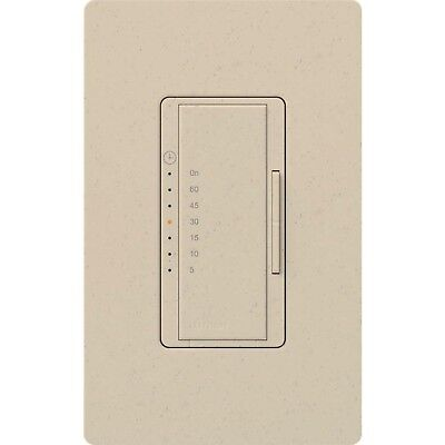 Dimmer Switch Timer - Lutron Maestro MA-T51MN-ST Digital Countdown Timer 5Amp Dimmer Switch STONE