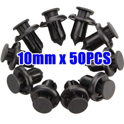 Car Parts - For Honda Clips Plastic Push Type Rivet Retainer Fastener Bumper 10mm Car Parts