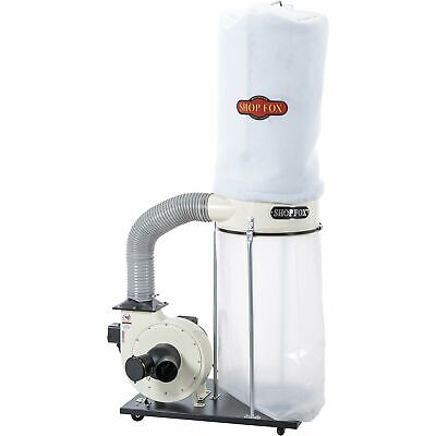 Shop Fox Dust Collector - 2 Hp 1550 Cfm Model W1666