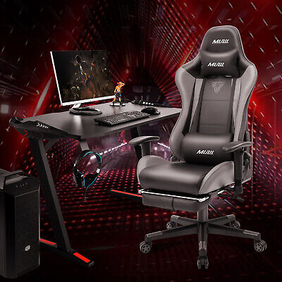 New Ergonomic Computer Gaming Chair High-back Chairs Swivel Office Racing Style