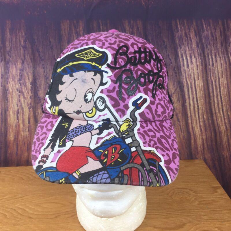 2011 King Fischer Betty Boop Mesh Snapback Trucker Hat