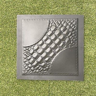 Alligator 3d Decorative Wall Panels 1 Pcs Abs Plastic Mold For Plaster