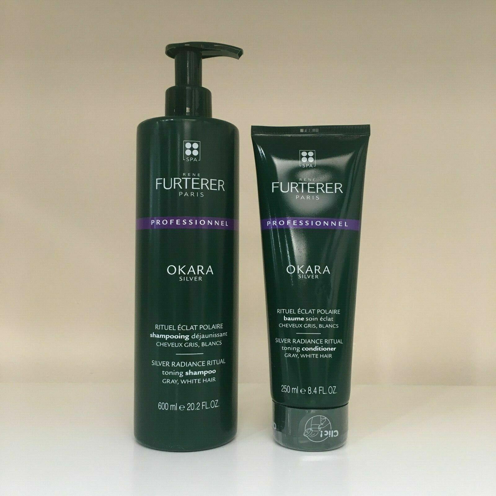 rene furterer okara silver toning shampoo conditioner