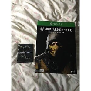 Mortal kombat x kollectors edition Xbox one game Endeavour Hills Casey Area Preview