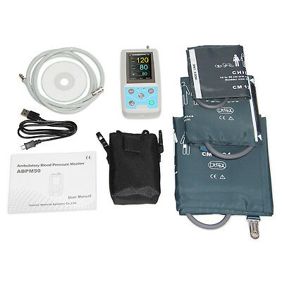 Contec Ambulatory Blood Pressure Monitor 24 Hours Nibp Holter 3 Cuffs Ce Fda Usa