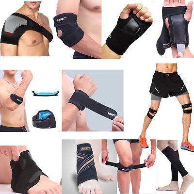 Hand/Wrist/Elbow/Shoulder/Knee/Calf/Ankle Support Brace Adjust Sports Wrap Pad