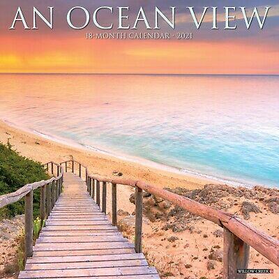 Ocean View 2021 Wall Calendar (Free Shipping)