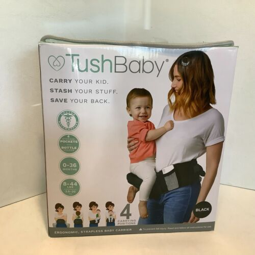 TushBaby Hip Waist Seat Baby Carrier Adjustable 0-36 Months Open Box