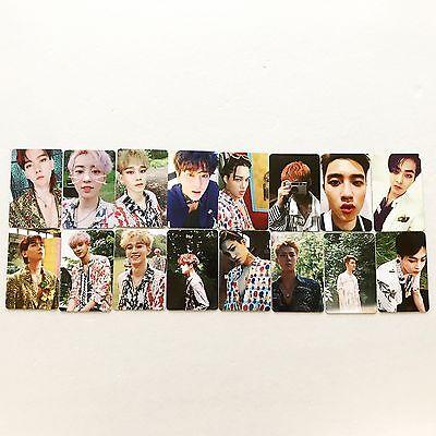 SM Town EXO 4th Album [The War] Regular B & Private ver Full Photocard Set