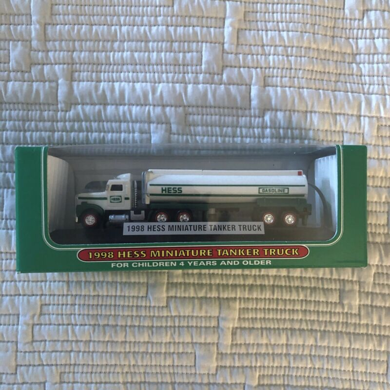 1998 Hess Miniature Tanker Truck - New In Box - Hess Mini Truck