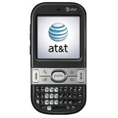 Palm Centro AT&T PDA Cell Phone BLACK touchscreen full keyboard web microSD MP3 ()