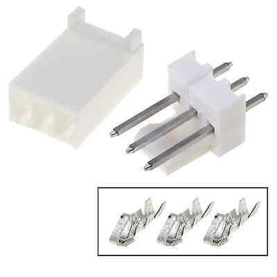 5pcs Molex Connector 3 Pins 254mm Tht Mf Arduino Pcb