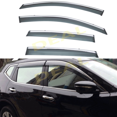 4pc Window Visor Rain Guard  For Honda 97-01 Honda CR-V Vent Shade Deflectors
