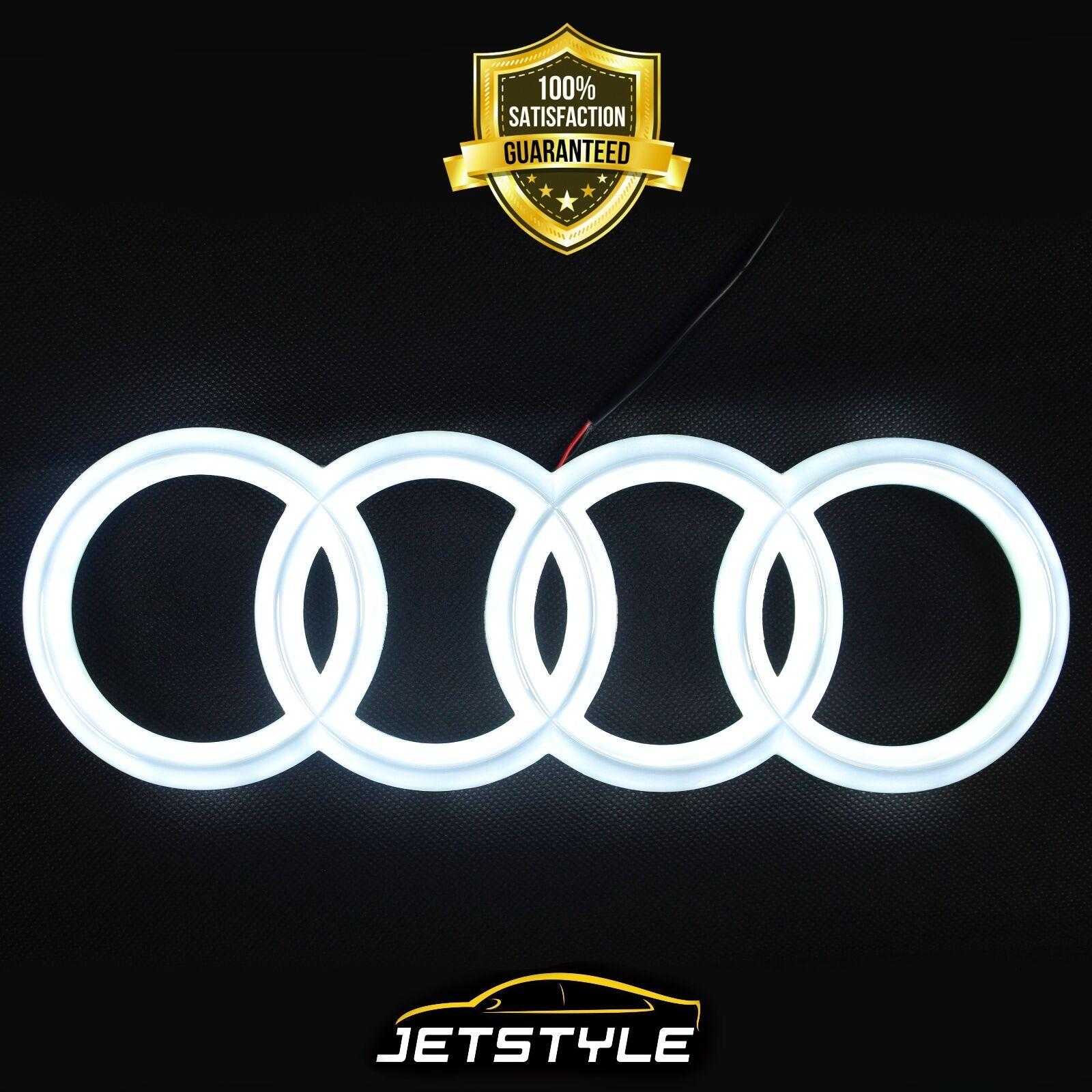 Audi Emblem Led Kuhlergril Weiss Auto Zeichen
