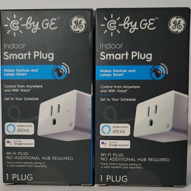 2-Pack GE Indoor AC Smart WiFi Alexa/Google Plug