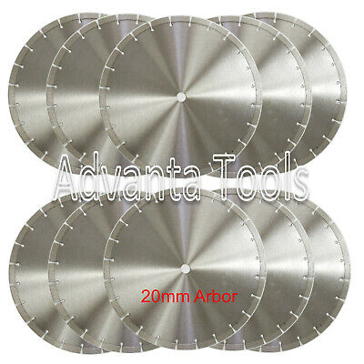 10pk 14 Diamond Blade For General Purpose Brick Block Concrete Stone-20mm Arbor