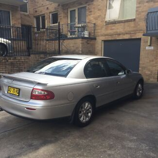 Holden Commodore 2002 VXII Equipe  Drummoyne Canada Bay Area Preview