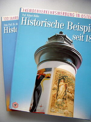 2 Bd. Fremdenverkehrswerbung Österreich Historische Beispiele + Entwicklung 1984