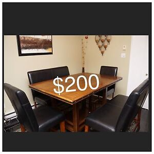 Moving sale $200 dining table set