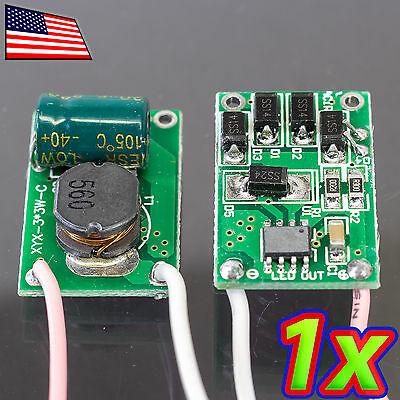 1x 10w Led Driver 12v - 24v 900ma Dc Efficient High Power Constant Current