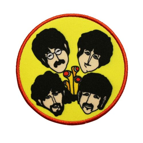 The Beatles Yellow Submarine Sub Periscopes Printed Sew On Patch -  074-V