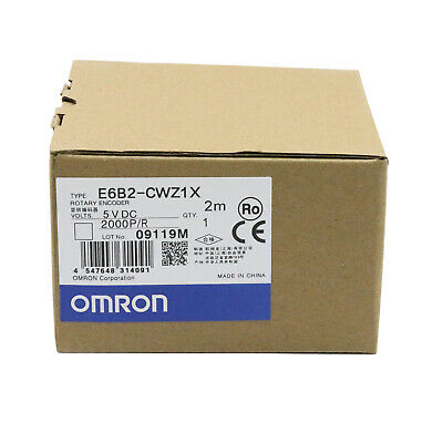 Omron E6b2-cwz1x 2000pr Rotary Encoder New One Year Warranty