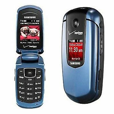 Samsung Smooth SCH-u350 Camera GPS Bluetooth Flip PREPAID VERIZON Cell Phone