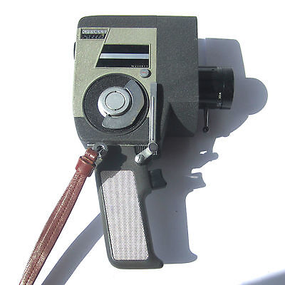 Vintage CROWN Automatic 8mm Film Movie Camera Reflex Zoom Mechanical Strap
