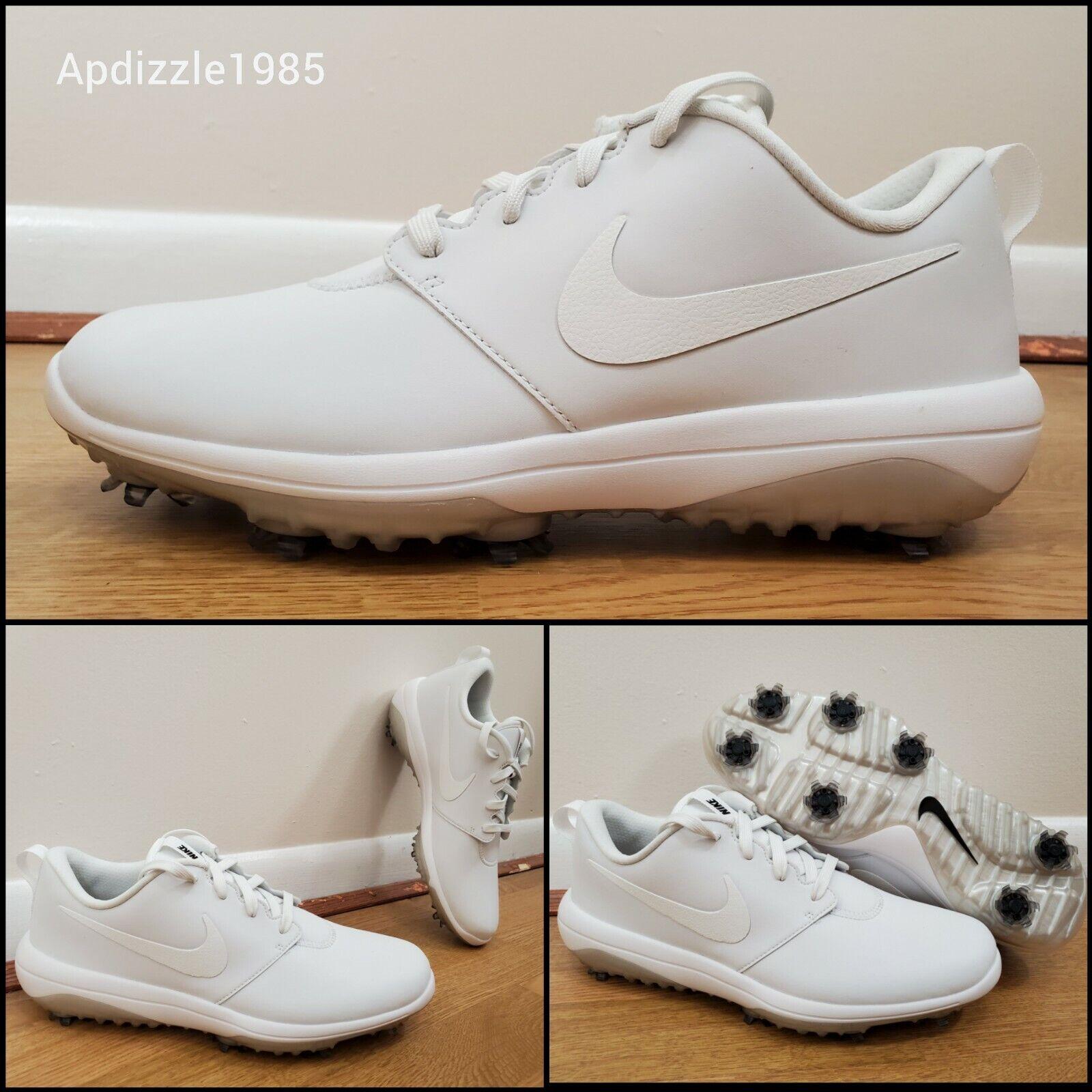 Nike Roshe G Tour Golf Shoes White Waterproof AR5579-100 Men
