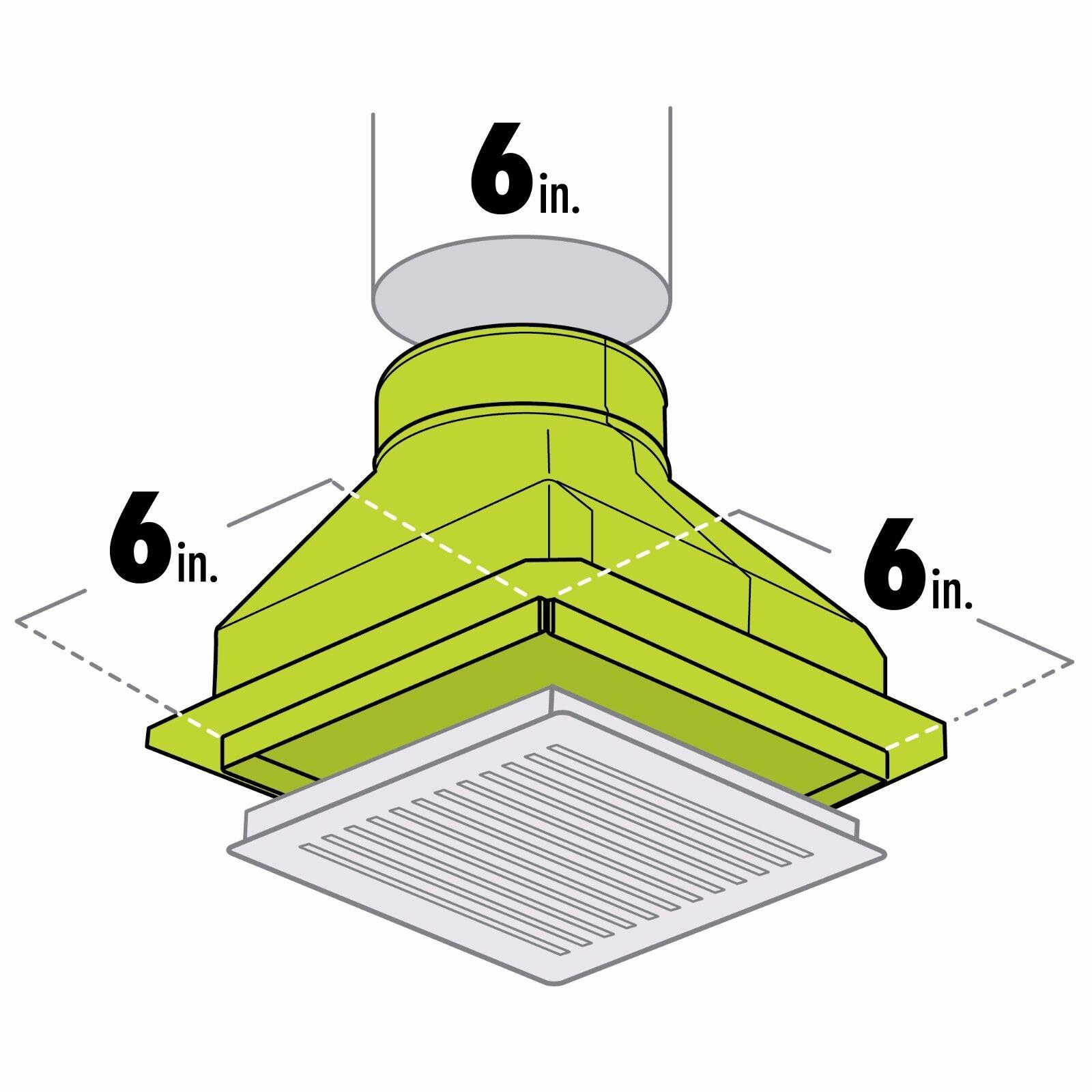 Box Ceiling Heat Ac Register Housing 2 Of 3
