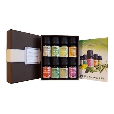 SoulEssence® 'The Eight Essentials' Gift Set Starter Pack - 8 Oils
