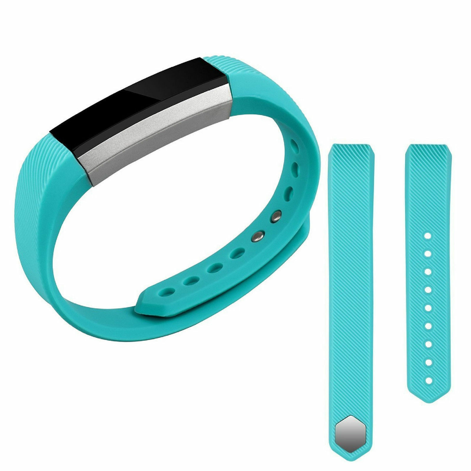 Replacement Silicone Wrist Band Strap For Fitbit Alta/ Fitbit Alta HR Turquoise