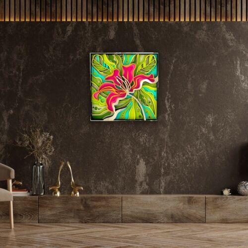 Modish Blossom_WallArt_WallDecor_HomeDecor_Wooden wallart