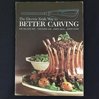 Vtg 1967 The Electric Knife Way To Better Carving Hamilton Beach Recipes 1st (The Best Electric Carving Knife)