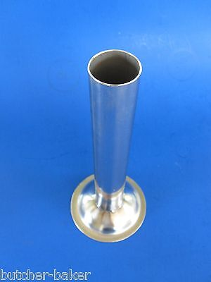 #22 LARGE Sausage Stuffer Tube Funnel STAINLESS STEEL for Meat Grinder
