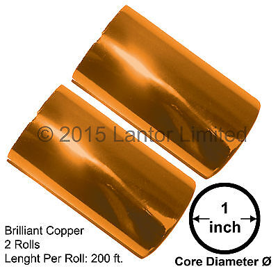 Hot Stamp Foil Stamping Tipper Kingsley 2rolls 3x200ft Copperbw88-910e-s2-1