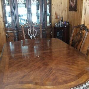 Polessky 6 Chairs Dining & China Cabinet Set