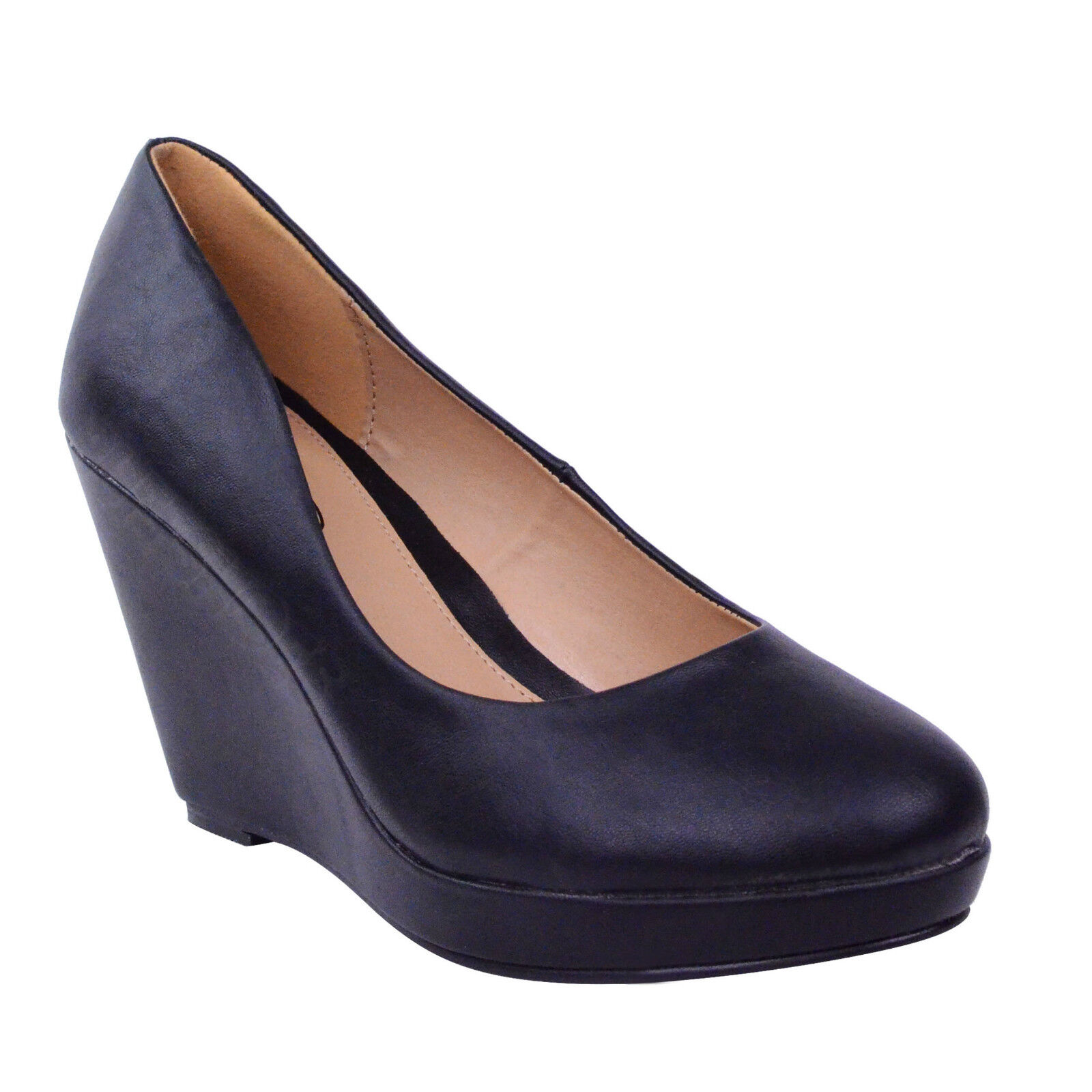 womens flat black shoes size 6 ebay
