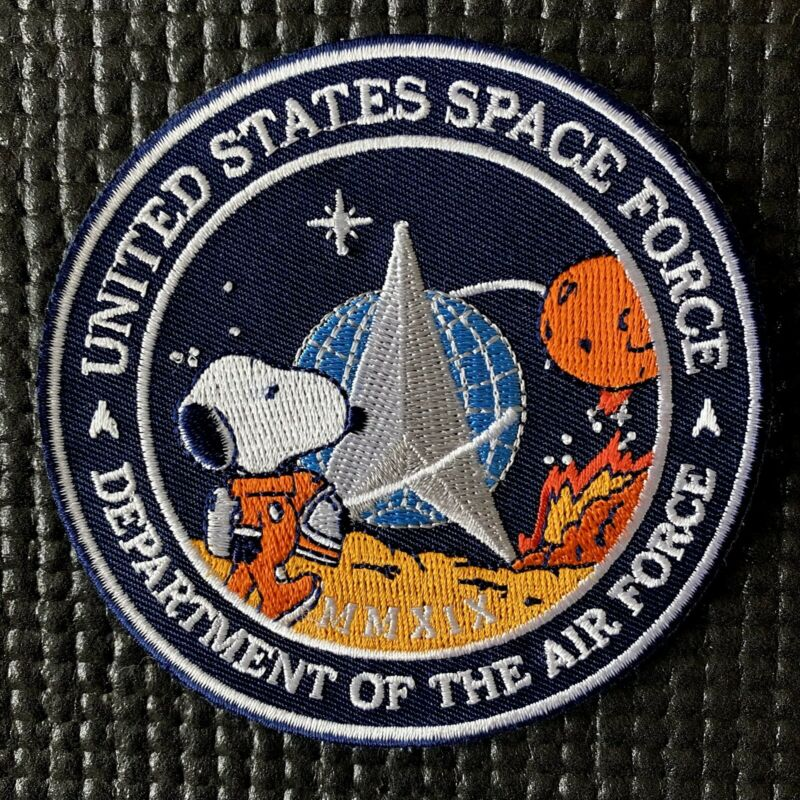 """US SPACE FORCE PATCH - NASA SPACEX MARS CAMPAIGN - 3.5"""""""