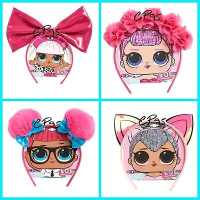 Lol Surprise Doll  Headband Halloween Costume Party Dress Up  Floral LOT OF 4)