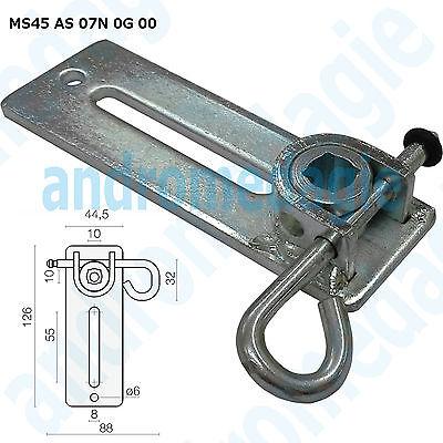 SUPPORT BRACKET ADJUSTABLE W/SPLIT PIN GALVANIZED Showin accessories shutters