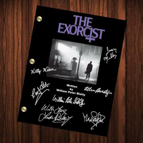 The Exorcist Autographed Signed Movie Script Reprint Full Screenplay Full Script