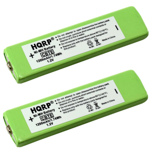2-Pack Gumstick Battery fits Sony D, MZ, NW, WM Series Portable CD / MP3 Players